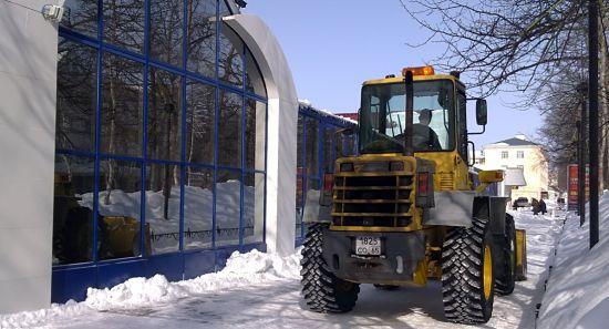 Северный Сахалин. 9 марта, весной еще и не пахнет, так что варежки из собачьей шерсти пригодятся