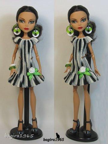 Платье для куклы от Багиры