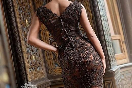 Платье. Ирландское кружево