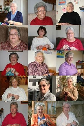 финские бабушки вяжут носки