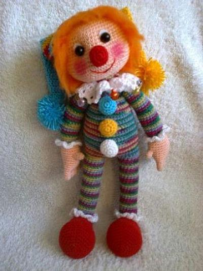 Клоун Матвейка. Как связать клоуна