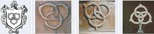 Кольцо Борромео основано на симметричной расстановке перекрывающих друг друга колец.