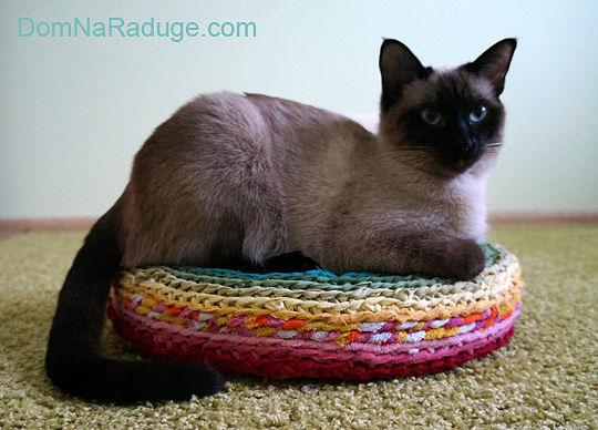 бабушкин коврик для котика