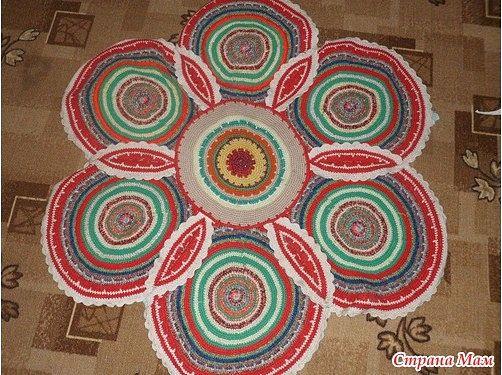 самые красивые бабушкины коврики