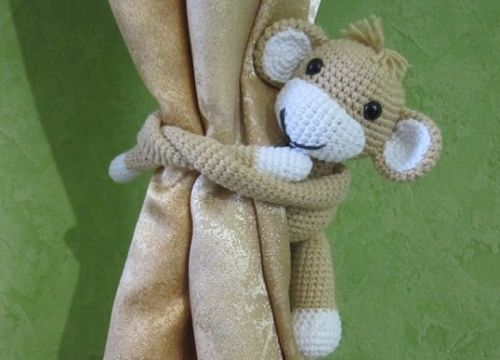 Как связать обезьянку