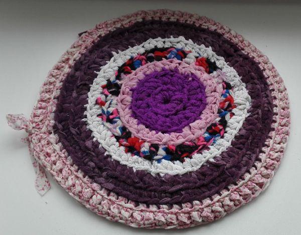 Мои деревенские коврики. Начало работы