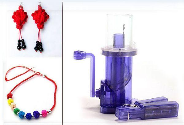Шнуроплет, мельница для вязания шнура, приспособление для плетения шнура в домашних условиях, устройство для плетения шнуров. Купить на Алиэкспресс