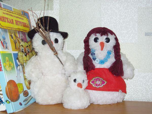 Папка «Снеговики»