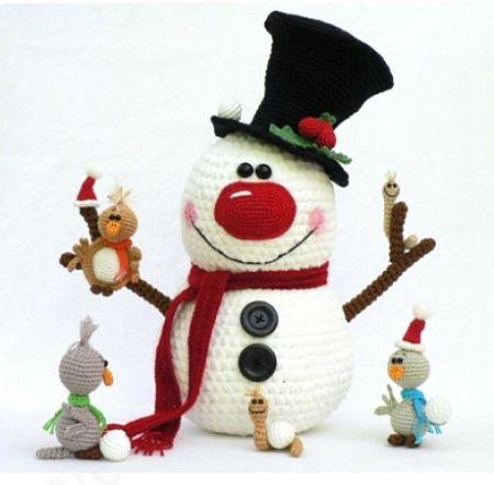 Снеговики. Моя коллекция новогодних игрушек